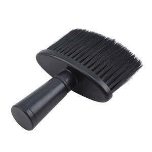 Image 5 - Professional Soft Black Neck Face Duster Brushes Barber Hair Clean Hairbrush Beard Brush Salon Cutting Hairdressing Styling Tool