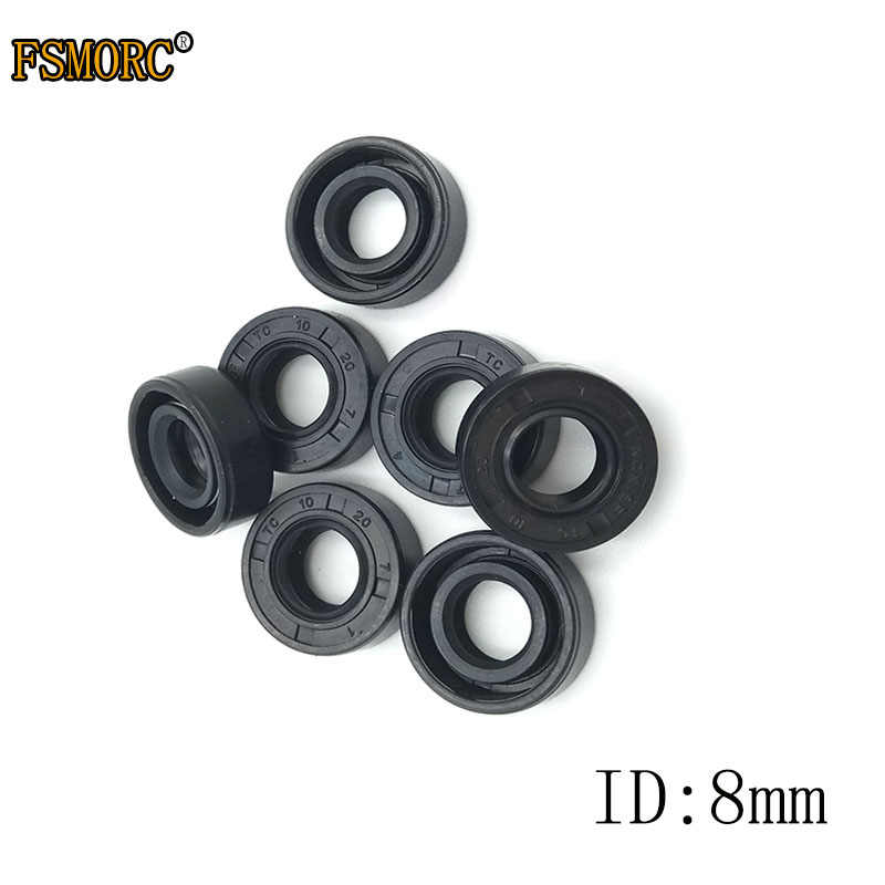 Guarnizione PARAOLIO materiale NBR D interno 8 mm x 16 mm x 5 mm