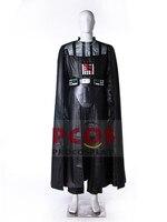 New Pleather Version Stars Wars Darth Vader Anakin Skywalker Dark Lord Cosplay Costume Mp003688