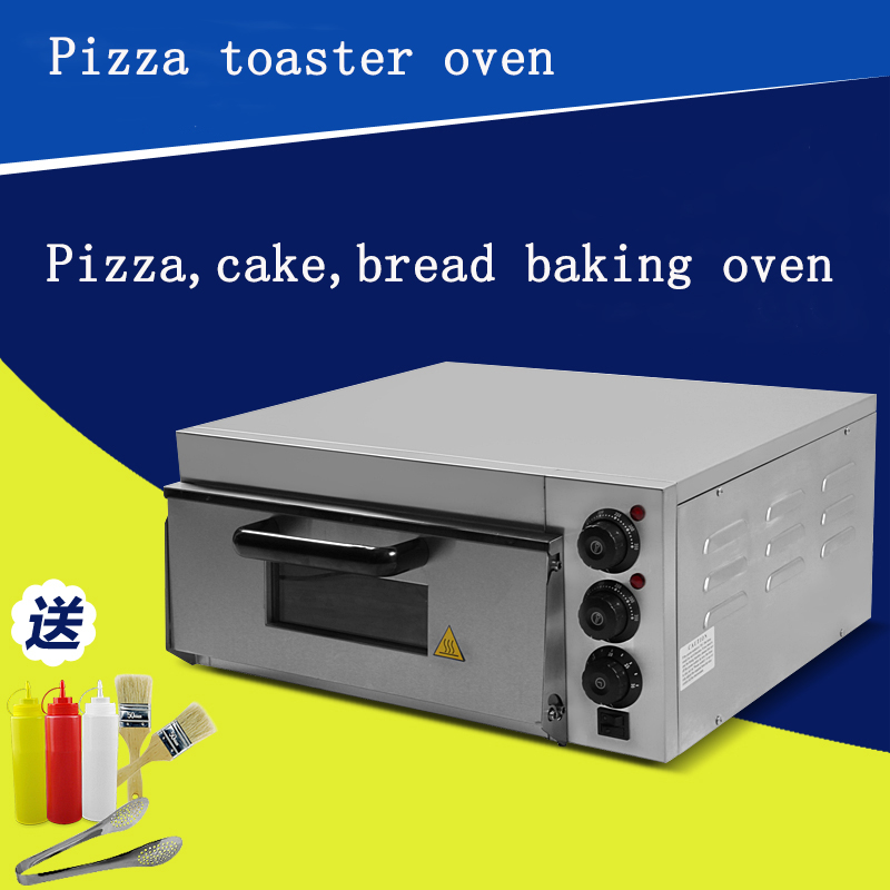electrical stainless steel home/commercial thermometer single pizza oven/mini baking oven/bread/cake toaster oven