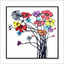 AIDAYU ART 100% handmade oil painting abstract colorful flower art on canvas for modern living room wall decor artwork unframed