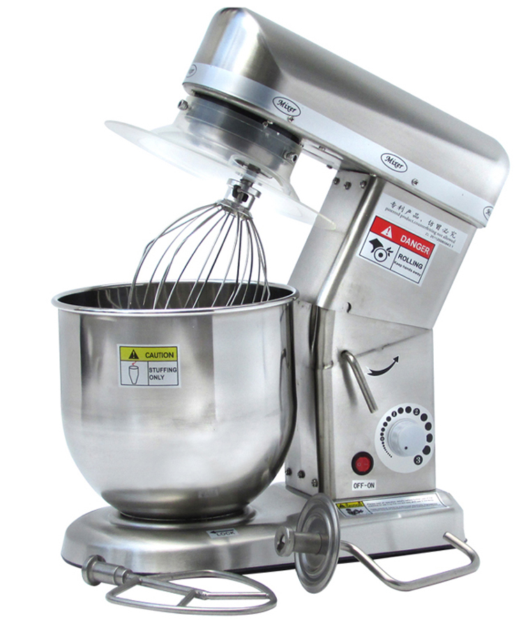 komersial listrik mixer dapur mixer bantuan penuh stainless steel besar klasik berdiri blender china