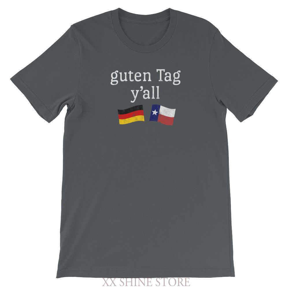 Grappige Oktoberfest T-shirt Guten Tag Yall Texas Duitse Beieren Oktober Fest Tshirt Bier Festival Outfit T-Shirt Past