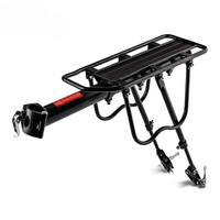 PROMEND 150kg Capacity Aluminum Alloy Bicycle Racks Bicycle Luggage Carrier MTB Bicycle Mountain/Road Bike Rear Rack Install C