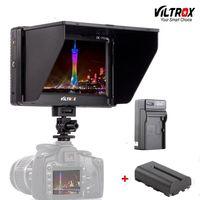 Viltrox DC 70II 7 4K LCD Camera Video Monitor HDMI AV Input 1024*600 Display For Canon Nikon BMMCC DSLR & battery & charger