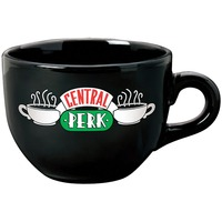 New Black 650ML Friends TV Show Series Central Perk Coffee Time Ceramic Coffee Tea Cup Mug