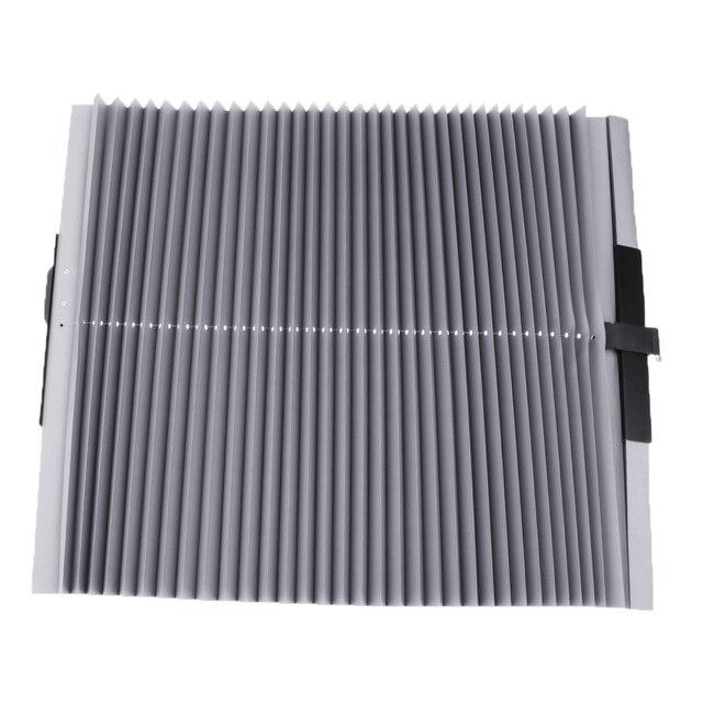 46*140 センチメートル格納式車太陽断熱カーテン長さ調節可能な UV 保護ローリングカバー自動リトラクタブルカバー