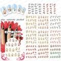 2015 Beautynailart 90 UNIDS/LOTE BLE1401-1488 Flores Nail Art Nail Art Agua Decal/Tatuaje/de Transferencia de Agua Etiqueta