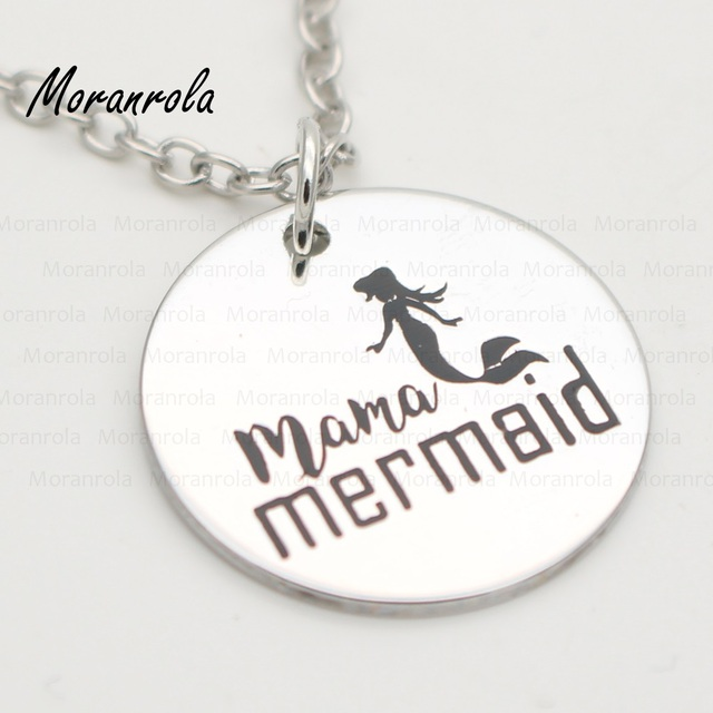New arried mama mermaid copper mommy necklace keychain mothers new arried mama mermaid copper mommy necklace keychain mothers day jewelry gift for aloadofball Choice Image