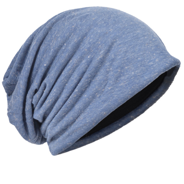 HISSHE Mens Jersey Slouchy Beanie Cap Long Baggy Cool Hip-hop Skullies Cap  Soft Thin Summer Hat for Unisex f13c492b0e8