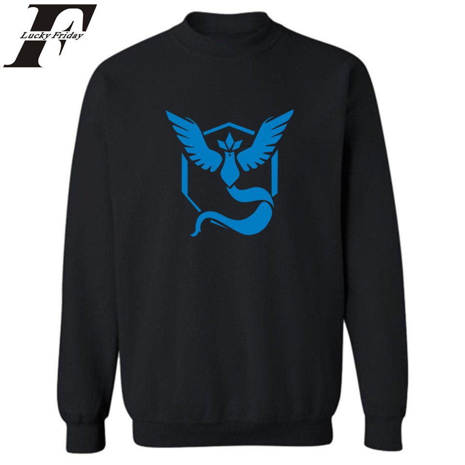 Hot Sale! Game Pokemon Go Sweatshirts Men Sweatshirt for Men auturm winter pullover Hoodies and Sweatshirt Hoodies Clothing