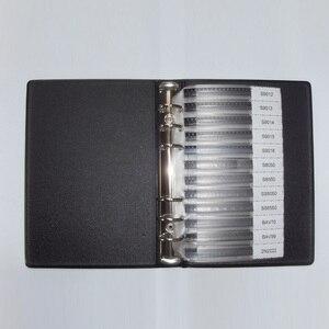 Image 3 - Набор для выборки SMD транзисторов для ежедневного использования, 36 ценностей, 25 шт. = 900 шт. триодов, разные комплекты, S9012 SS8050, bab70 2N5551, SI2300, BAT54A, TL431 и т. д.