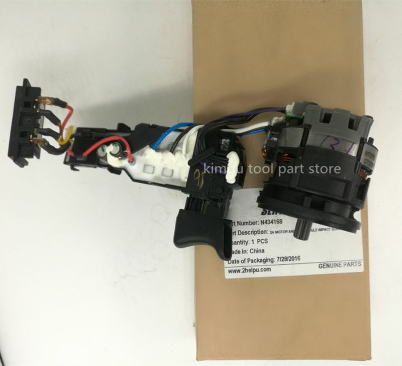 DV 18V Motor and Switch Replace For Dewalt N4345168 DCF886DV 18V Motor and Switch Replace For Dewalt N4345168 DCF886
