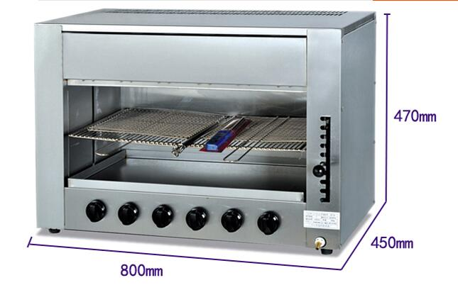 Exceptionnel Commercial Infrared Gas Kitchen Equipment Salamander With 6 Burner Gas BBQ  Grill Machine In Food Processors From Home Appliances On Aliexpress.com |  Alibaba ...