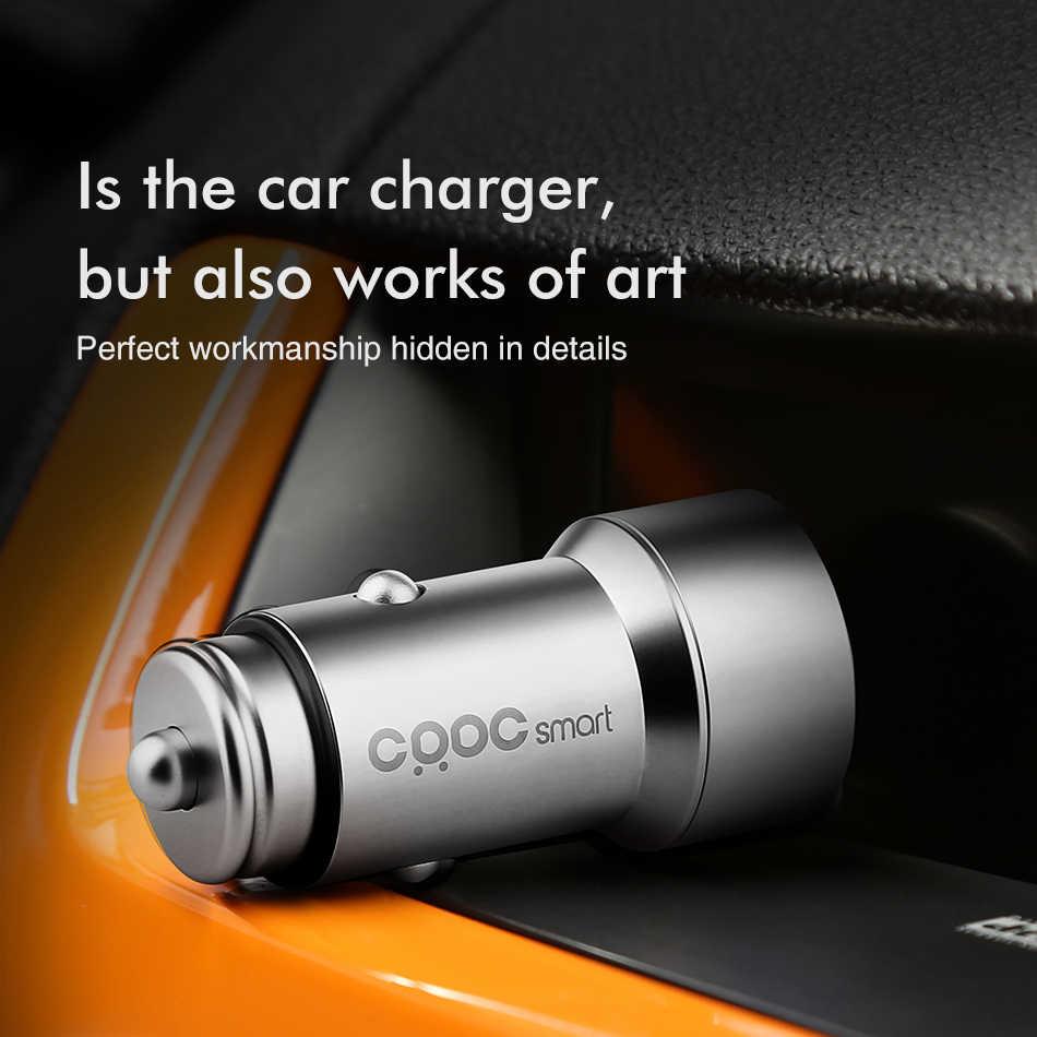 CRDC совместимы с 3.4A двойной зарядное устройство USB универсальный металлический адаптер для быстрого автомобильного Зарядное устройство с светодиодный halo для Xiaomi iPhone 7 samsung S8 LG G5 htc и планшетных ПК