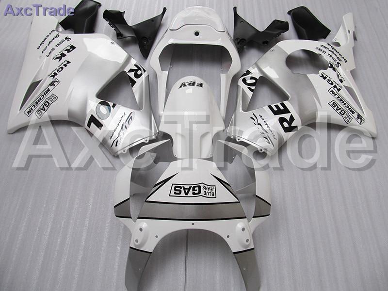 Пластиковый обтекатель комплект, пригодный для Honda CBR900RR ЦБ РФ 900RR 954 рублей ЦБ РФ 900 2002 2003 02 03 Обтекатели комплект выполненный на заказ мотоцикл кузова