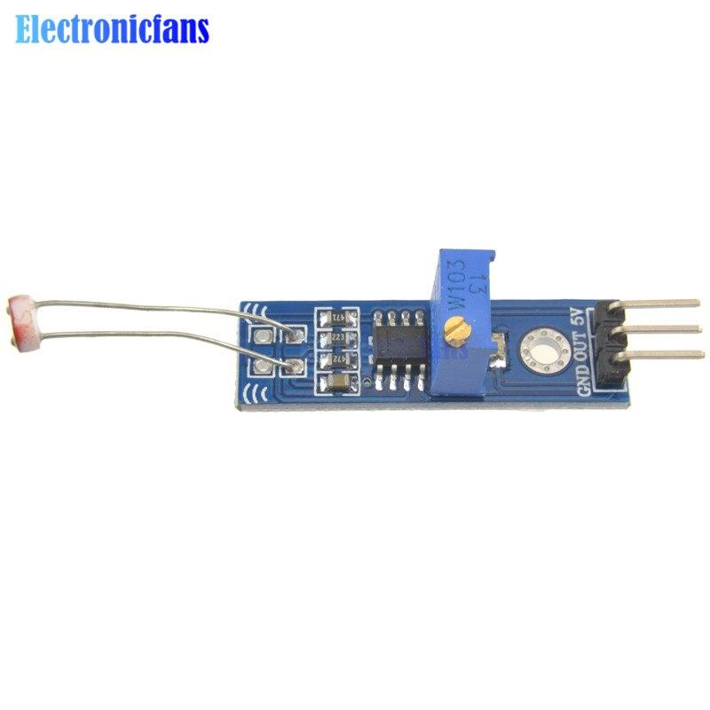 photoresistance detection Optical Photosensitive light sensor module For Arduino