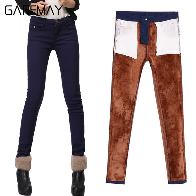 Casual Velvet Pants Black Women Warm Female Formal Trousers Thick Elastic Red Skinny Large Size Winter Pants Stretch Clothing