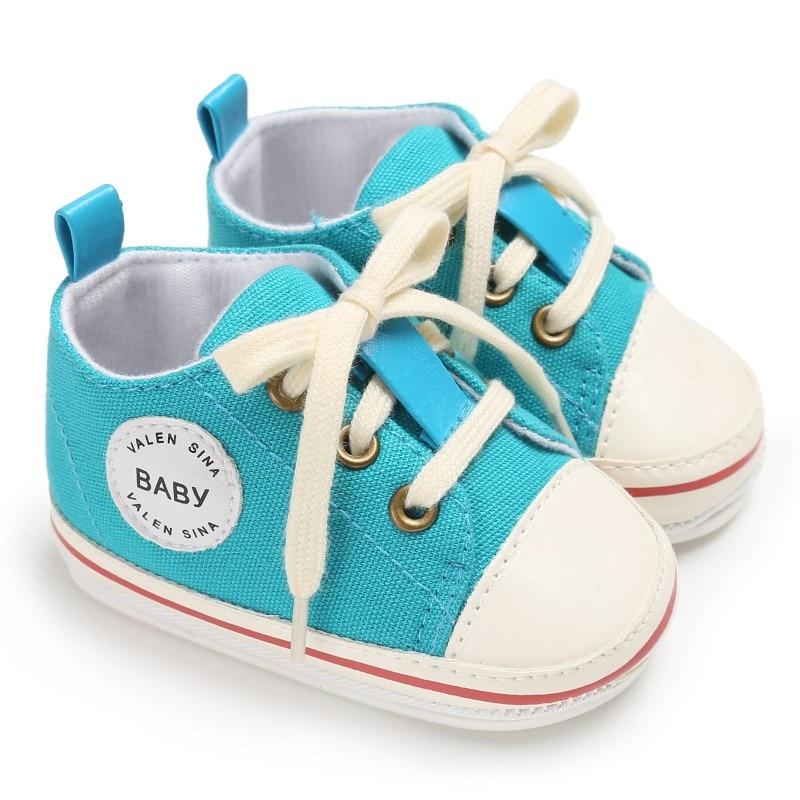Vintage Infant 0 12M Toddler Canvas Sneakers Non slip Kids ...