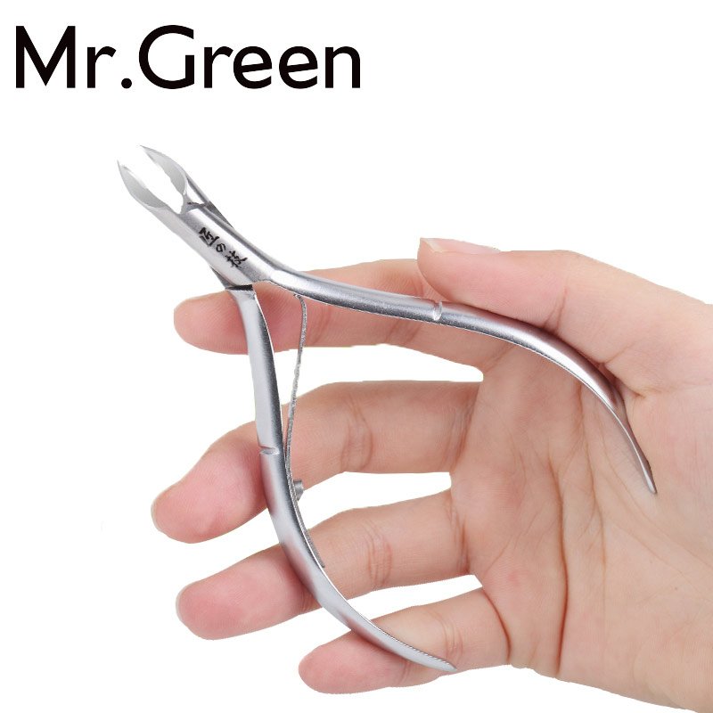 Nail Cuticle Cutter Grooming Tool Stainless Steel Finger Toe Nail Dead Skin Cuticle Scissor Nail Clipper Nipper Manicure Tool stainless steel cuticle cutter for foot heel silver