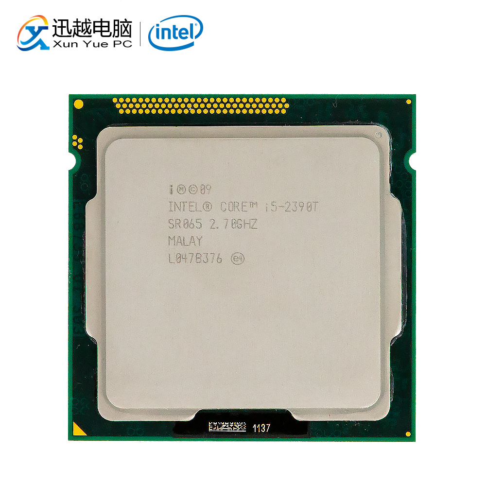 Intel Core I5-2390T Desktop Processor I5 2390T Dual-Core 2.7GHz 3MB L3 Cache LGA 1155 Server Used CPU