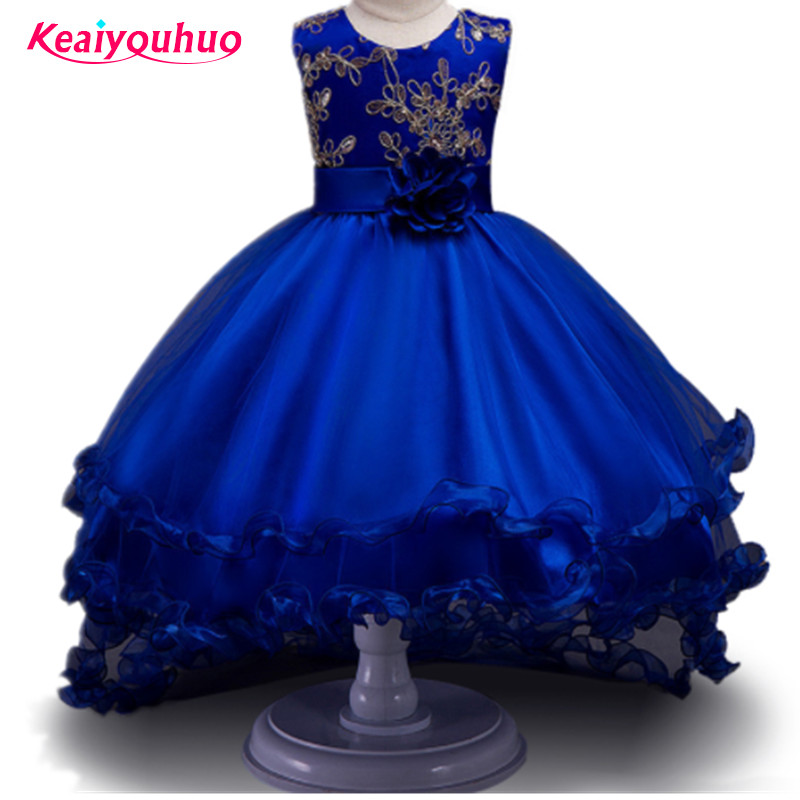 Baby Girl Dress Children Kids Dresses For Girls 2 3 4 5 6 7 8 9 10 Year Birthday Outfits Dresses Girls Evening Party Formal Wear baby girls party dress 2017 wedding sleeveless teens girl dresses kids clothes children dress for 5 6 7 8 9 10 11 12 13 14 years