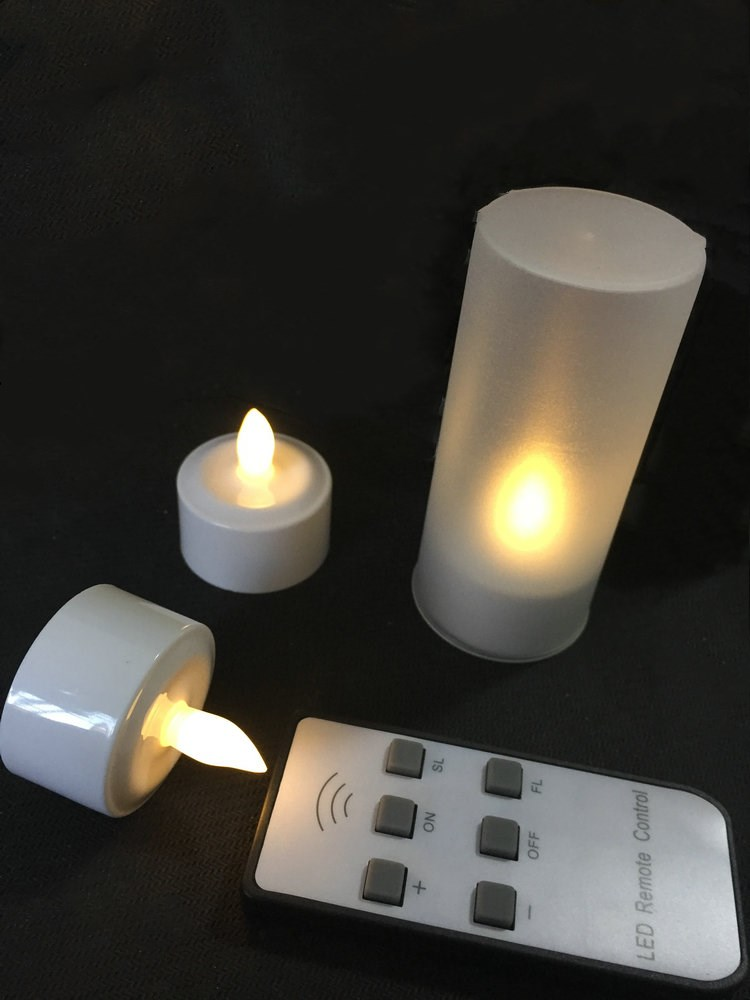 Lights & Lighting Set Of 12 Rechargeable Romantic Led Candles Flameless Tea Light Glow Lamp 6key W/remote Controller Waxless Christmas-warm White