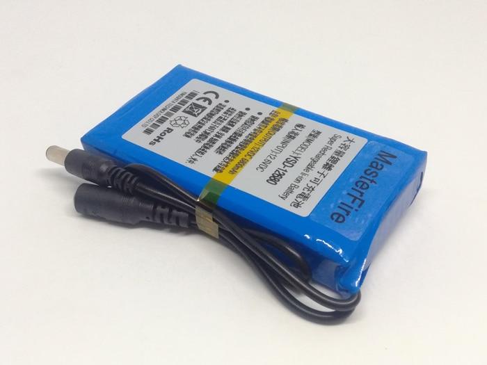 Masterfire novo YSD 12680 12 v bateria