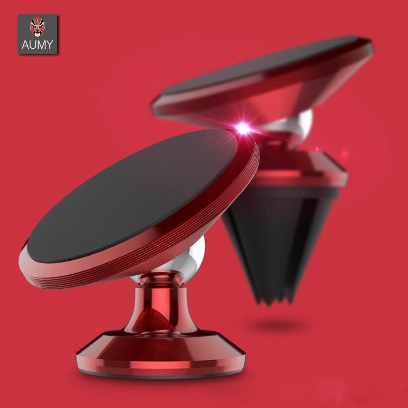 AUMY Car Phone holder Magnetic Holder Universal Dashboard Car Mout magnet Smartphone Gps mobile bracket Car mobile Phone Holder