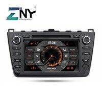 8 IPS In Dash 2 Din Android 9.0 Car DVD Stereo For Mazda 6 Ruiyi Ultra Auto Radio 2 Din WiFi GPS Navi Audio Video Backup Camera