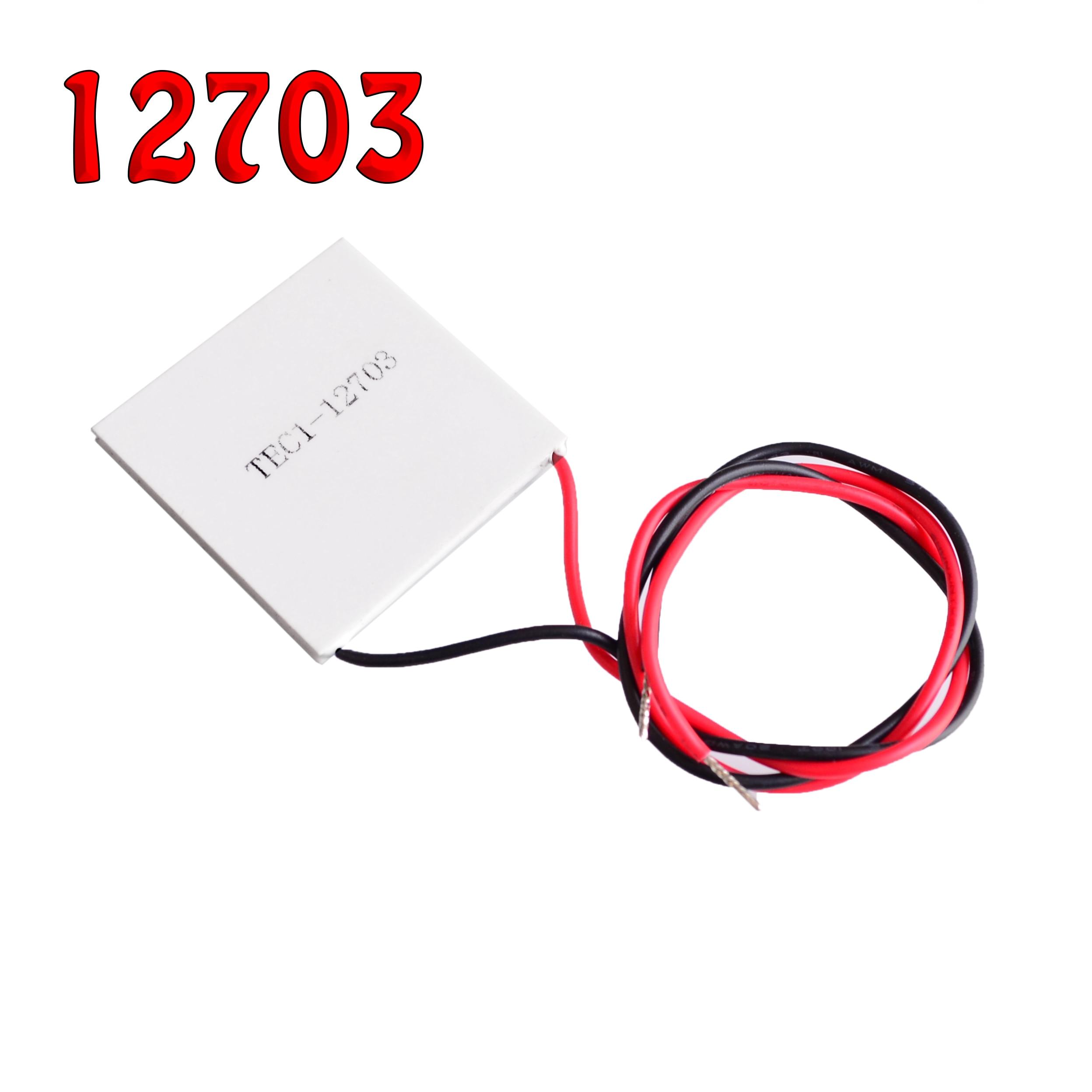 TEC1-12703 12706 12709 12710 12715 SP1848-27145 Thermoelectric Cooler Peltier 12V 5A Cells Peltier Elemente Module