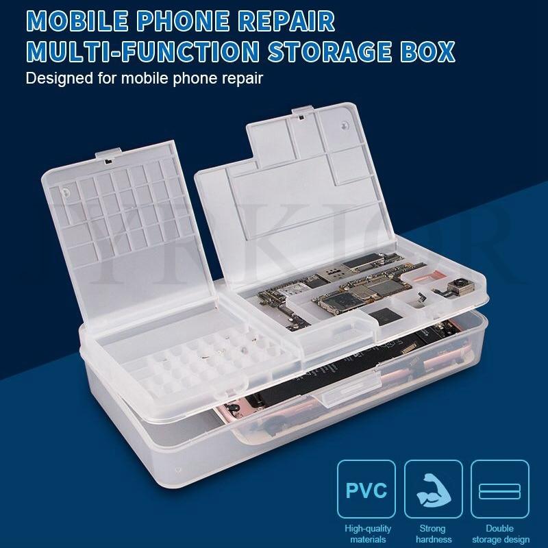 Jyrkior SUNSHINE SS 001A многофункциональная волшебная коробка для мобильного телефона, ЖК экран, материнская плата, запасные части, пластиковая коробка для хранения Наборы ручных инструментов      АлиЭкспресс