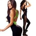 2017 Sexy Lady Bodycon Bandagem Pista Sportswear Cruz Halter Mulheres Define Suitd Backless Ucrânia Treino Suor Ternos Mulheres