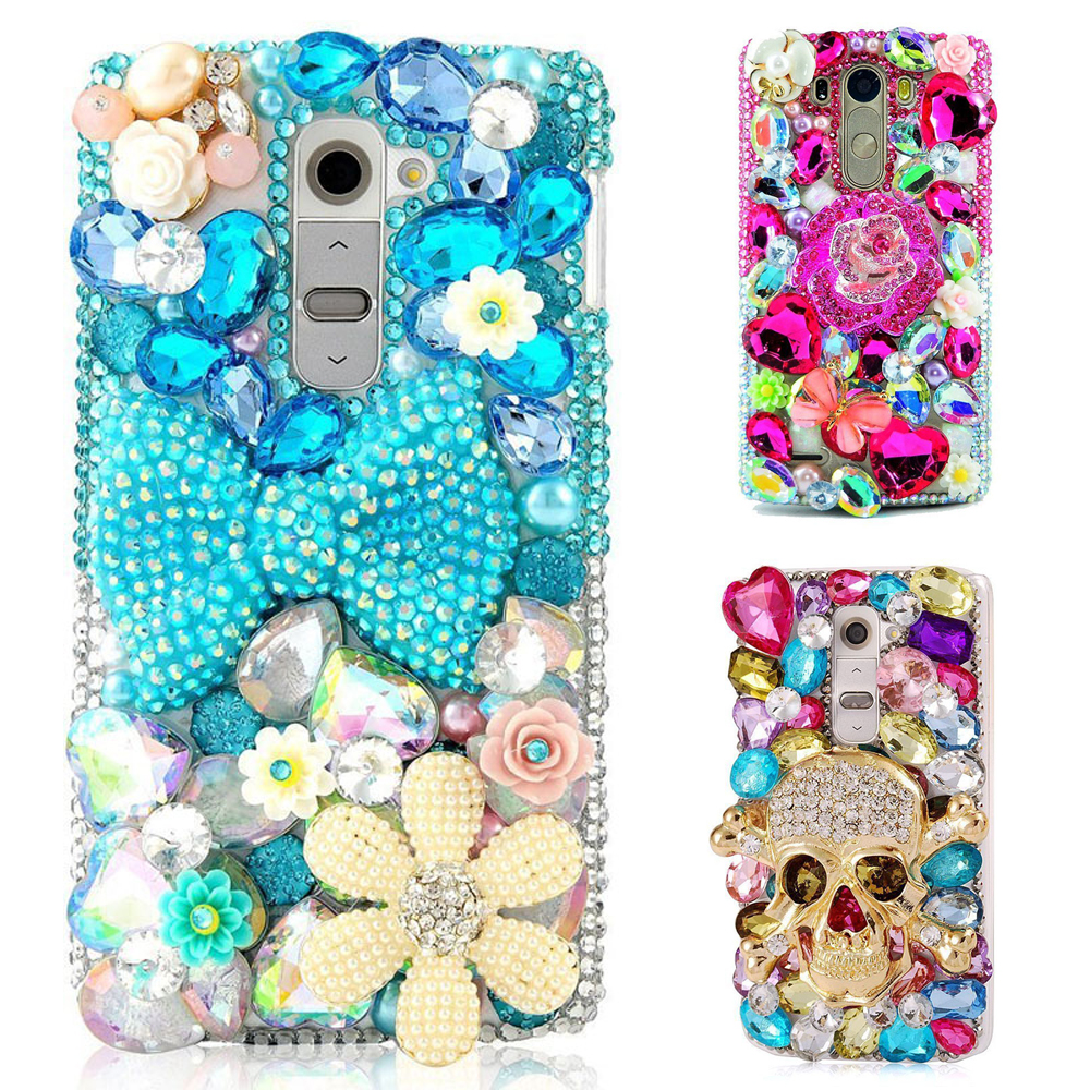 3D Handmade Bling Crystal Glitter Rhineston Jewelled Cover Diamond Case For Google Pixel/Pixel XL/Google Pixel 2/Pixel XL 2