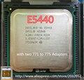 Оригинальный Intel Xeon E5440 ПРОЦЕССОРА сервера/2.83 ГГц/LGA771/L2 Кэш 12 МБ/Quad-Core/(дать Два 771 до 775 Адаптеров)