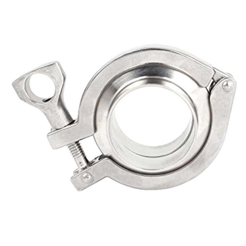 2 дюйма тройной зажим 45 мм труба OD 304 нержавеющая сталь санитарные трубы наконечники Комплект прокладок 64 мм наконечник OD для домашнего пивоварения дневник продукт