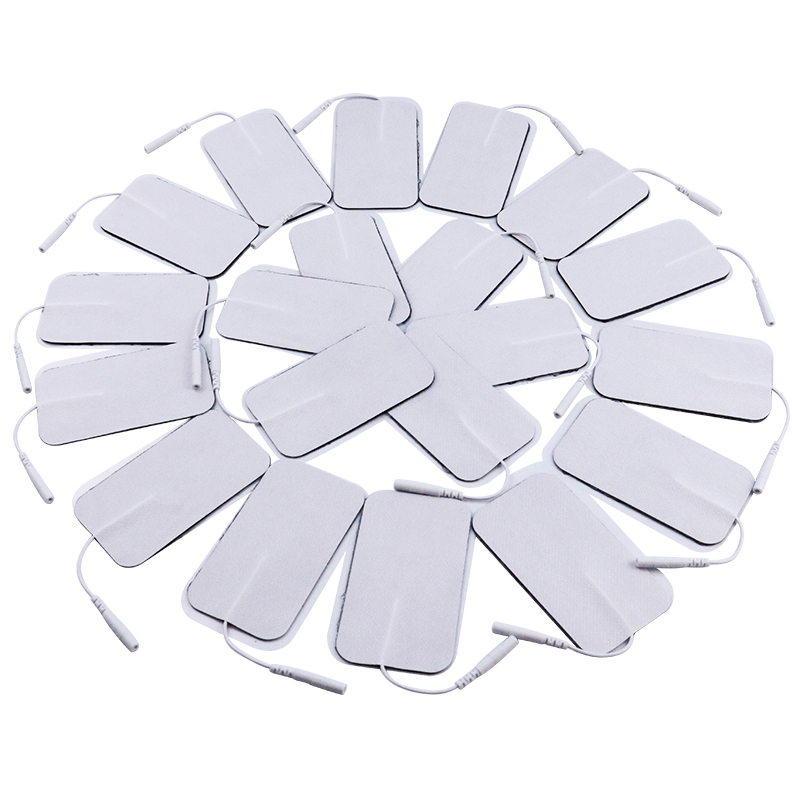 20Pcs(10 Pairs) Gel Electrode Pads For Digital Tens Acupuncture Physiotherapy Machine Muscle Stimulator Body Massager 2mm Plug20Pcs(10 Pairs) Gel Electrode Pads For Digital Tens Acupuncture Physiotherapy Machine Muscle Stimulator Body Massager 2mm Plug