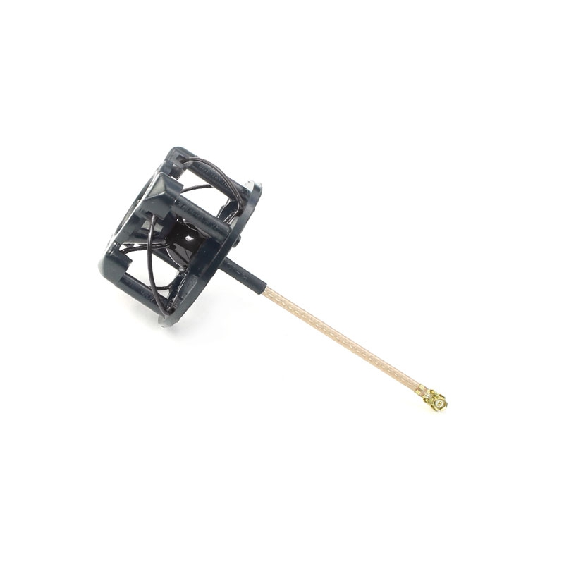 FuriousFPV Antenna 4 Leaf Cover Case RHCP Black For RC