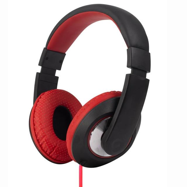 2016 Consumer Electronics Super Bass Headphones Surround Stereo Game Music Phone Headset Headband Headphone Mic Onfine Leo