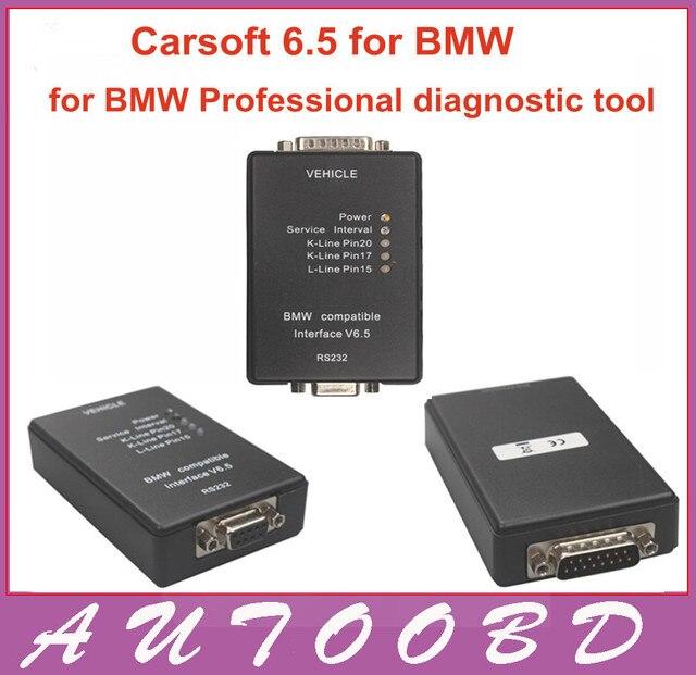 2016 высокое качество OBD2 для bmw Carsoft 6.5 Carsoft V6.5 для bmw MCU--E30 / E31 / E32 / E34 / E36 / E38 / E39 / E60 / E65 / E46 / E53