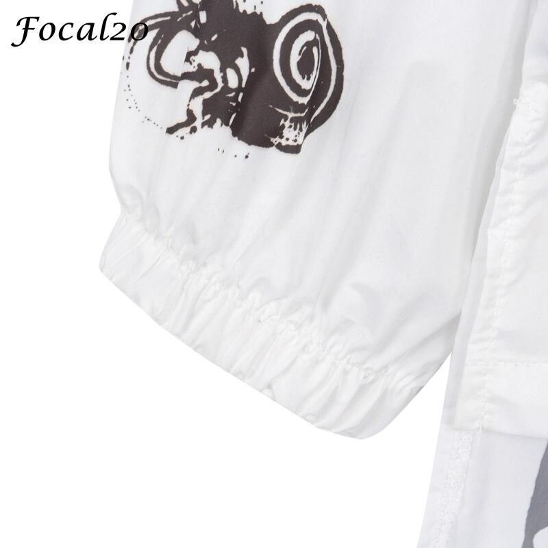 Focal20 Streetwear Junji Itou Manga Print Oversize Women Hooded Jacket Anime Hoodie Pullover Jacket Coat Outwear Streetwear 10