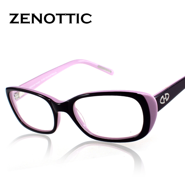 Hot Sale! 2016 fashion design lady style full rim acetate optical frames, women prescription eyeglasses frames DT029