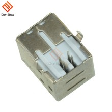10Pcs High Quality Mini USB 2.0 4Pin Female Type-B Connector Replace Solder Port Top(China)