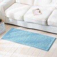 Absorbent Slip resistant Entrance Doormat Floor Mat Chenille Absorbent Kitchen Long Carpet Corridor Rug Front Door Entry Mats