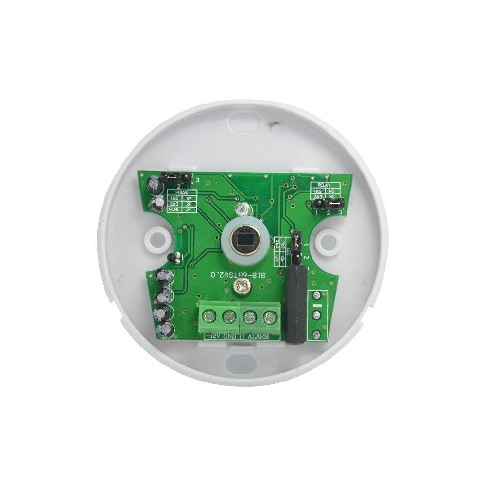 (10 pièces) intérieur 360 degrés Mini plafond pir alarme fil capteur de mouvement infrarouge anti cambrioleur sécurité à domicile intrusion interrupteur de lampe
