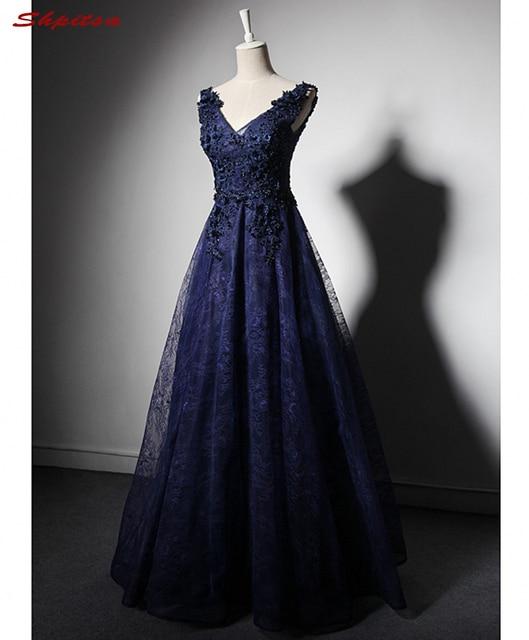 Vestidos casamento azul escuro