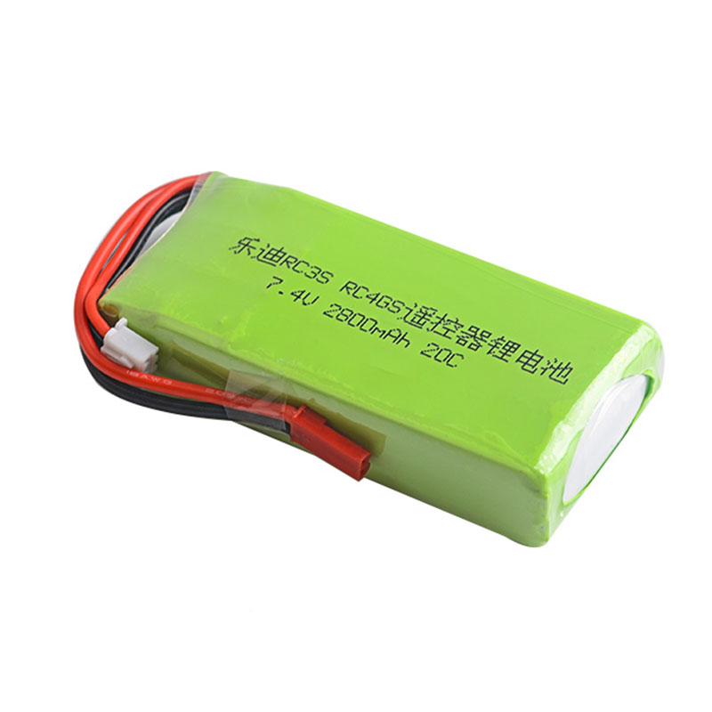 RC remote control lithium battery RadioLink RC3S/RC4GS/RC6GS power control <font><b>2S</b></font> 7.4V <font><b>2800mah</b></font> 20C image
