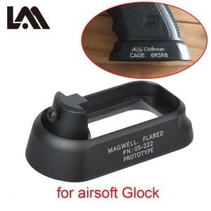 Image 1 - טקטי ALG הגנה התלקח Magwell לאקדח Airsoft Marui אנחנו קווה Gen3 גלוק 17 18C 24 31 34 35 הר ציד אקדח אבזרים