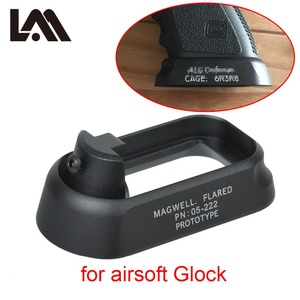 Image 1 - Tactical ALG Defense Flared Magwell For Pistol Airsoft Marui WE KWA Gen3 Glock 17 18C 24 31 34 35 Mount Hunting Gun Accessories