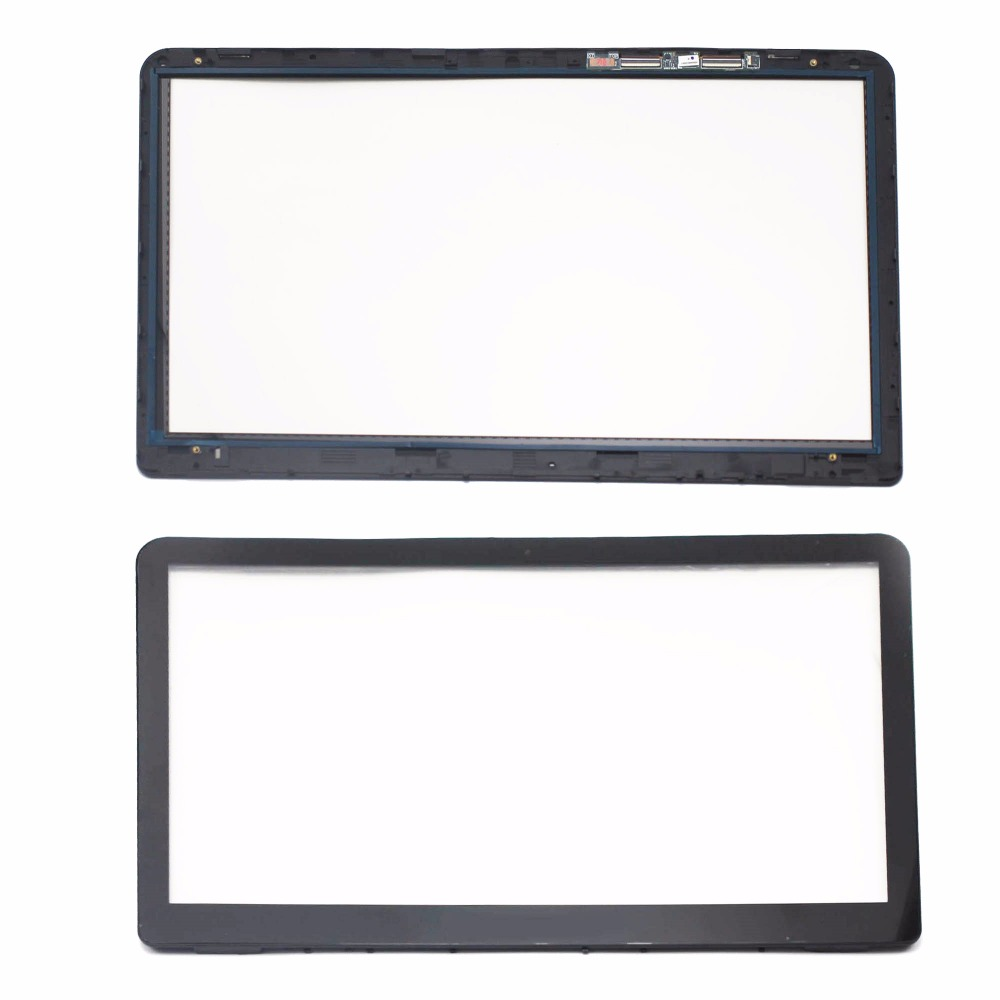 15.6'' for HP Pavilion x360 15-bk 15-bk009na 15-bk057sa 15-bk060sa 15-bk062na 15-bk093ms Touch Screen Digitizer Glass with Bezel